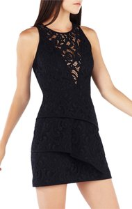 BCBGMAXAZRIA Bcbg Cocktai Hanah Lace Party Holiday Lbd Dress
