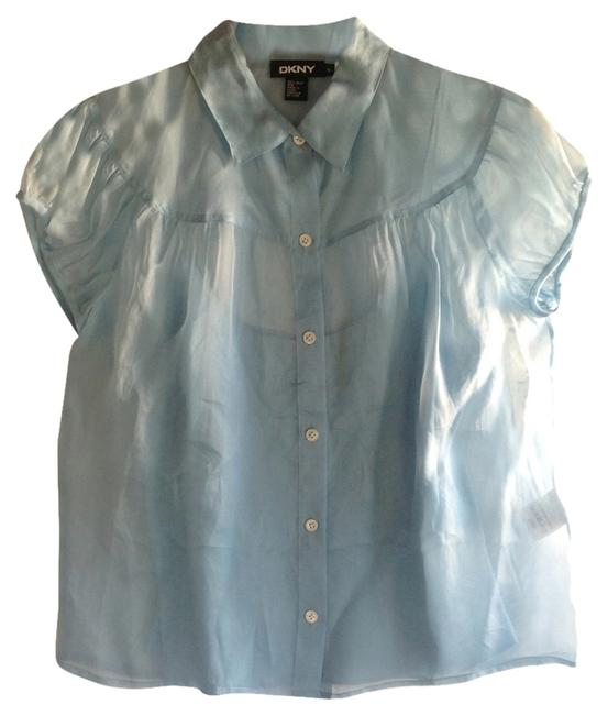 Preload https://item4.tradesy.com/images/dkny-blue-button-down-top-size-6-s-10187353-0-2.jpg?width=400&height=650