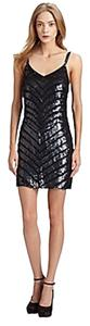 Parker Chevron Bcbg Zig Dress