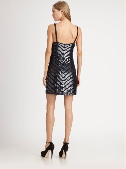 Parker Chevron Bcbg Zig Beaded Beads Sequin Strappy Mini Joey Alice Olivia Joie Saks Bloomingdales Neimanmarcus Night Out Date Dress