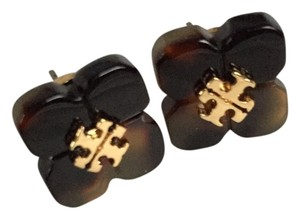 Tory Burch Tory Burch BRAND NEW WITH TAGS TORY BURCH BABYLON FLOWER RESIN STUD EARRING POST BACK