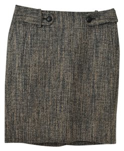 Banana Republic Pencil Chunky Skirt Tweed