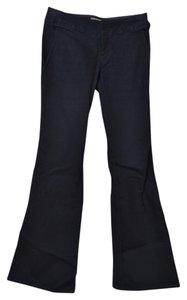 Banana Republic Wash Boot Cut Flare Pants Dark Denim