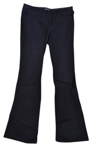 Banana Republic Dark Wash Boot Cut Flare Pants Dark Denim