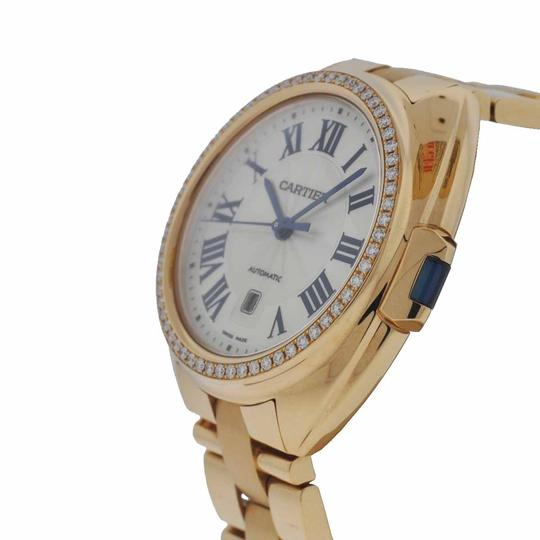 Cartier Cle de Cartier 31mm 18k Rose Gold with Original Diamonds Ladies Watch Image 1