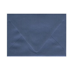 Blue (Sparkling Sapphire) Invitation Envelopes - 5 1/4 X 7 1/4 Euro Flap