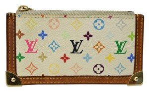 Louis Vuitton Louis Vuitton Monogram Key Case Coin Multicolor