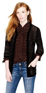 J.Crew Wool Blend Hook Closure Cardigan