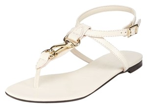 Burberry cream Sandals