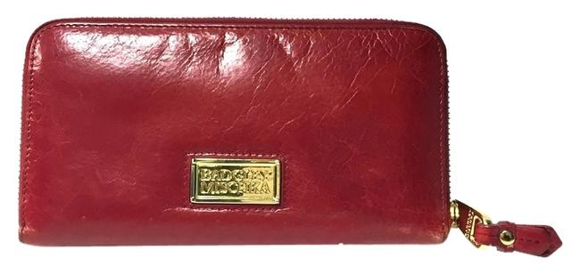 Item - Red Leather Zipper Wallet