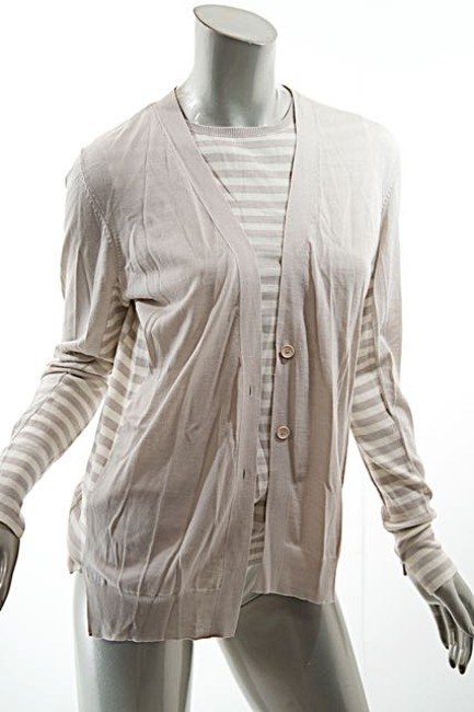 Akris Punto Twinset Stripes Cardigan