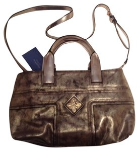 Simply Vera Vera Wang Satchel in Metallic Gold