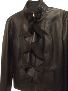 Bagatelle Designer Leather BLACK Leather Jacket
