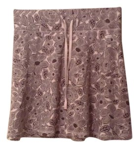 Liz Claiborne Mini Skirt Brown, tan