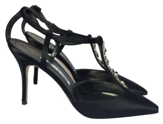 Manolo Blahnik Black Pumps Image 1
