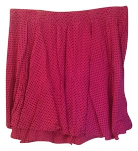 Torrid Mini Skirt Pink and Black