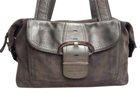 Preload https://img-static.tradesy.com/item/10191094/charles-david-handbag-grey-suedeleather-shoulder-bag-0-1-540-540.jpg