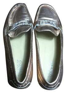 Franco Sarto Shiny Leather Copper Flats