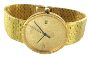 Corum CORUM 18K & 22K GOLD WATCH 1904 TWENTY DOLLARS UNITED STATES OF AMERICA QUARTZ
