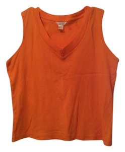Christopher & Banks Top Orange
