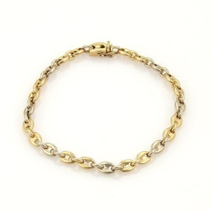 Cartier Cartier Mariner Anchor Link Bracelet In 18k Yellow White Gold 7.5