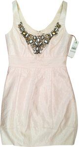 Laundry by Shelli Segal Mini Jeweled Dress