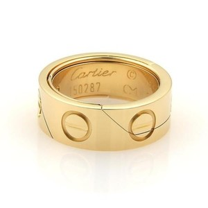 Cartier Cartier Love Secret Puzzle 7mm Wide Band Ring 49 -