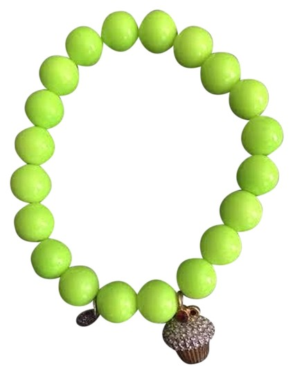 Preload https://item4.tradesy.com/images/juicy-couture-green-cupcake-stretch-beaded-bracelet-1019248-0-0.jpg?width=440&height=440