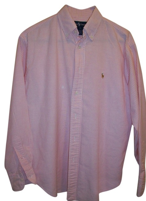 Preload https://item5.tradesy.com/images/ralph-lauren-polo-oxford-button-down-top-size-12-l-10192519-0-1.jpg?width=400&height=650