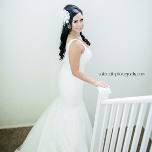 Justin Alexander Mermaid Style Wedding Dress