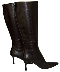 Gucci Leather Size 6 Stiletto brown Boots