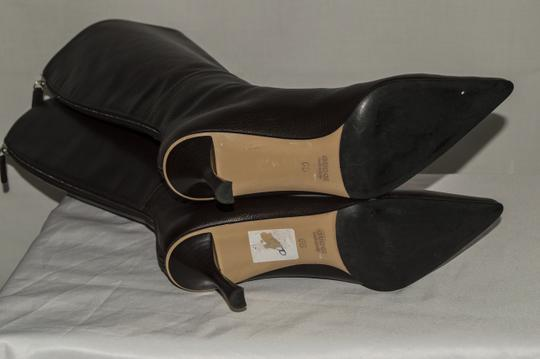 Gucci Leather Size 6 Stiletto brown Boots Image 5