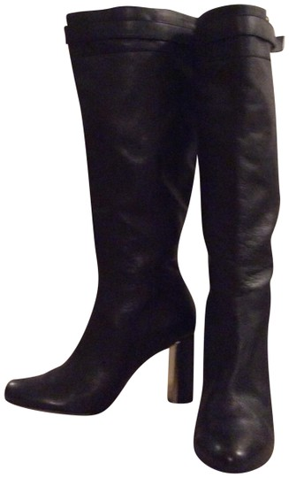Preload https://item3.tradesy.com/images/ann-taylor-black-knee-high-leather-bootsbooties-size-us-9-regular-m-b-101937-0-3.jpg?width=440&height=440