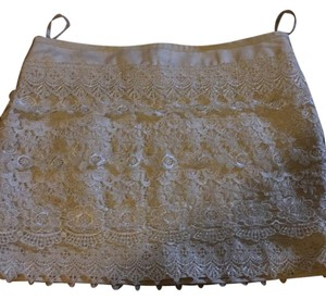 Sans Souci Mini Skirt Cream