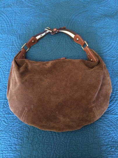 Louis Vuitton Suede Limited Edition Hobo Bag