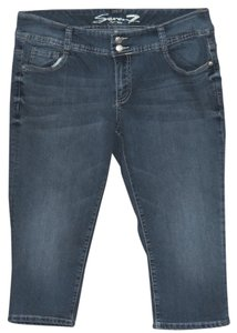 Seven Jeans Luxe Capri Capri/Cropped Denim-Medium Wash