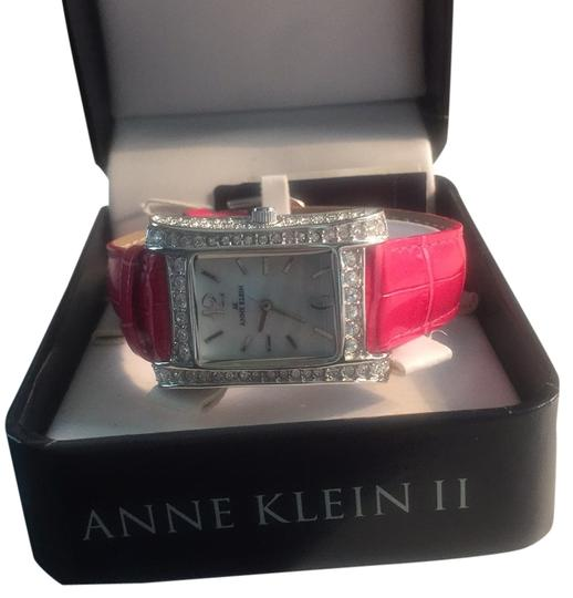 Preload https://item5.tradesy.com/images/anne-klein-pink-hot-leather-watch-10194214-0-1.jpg?width=440&height=440
