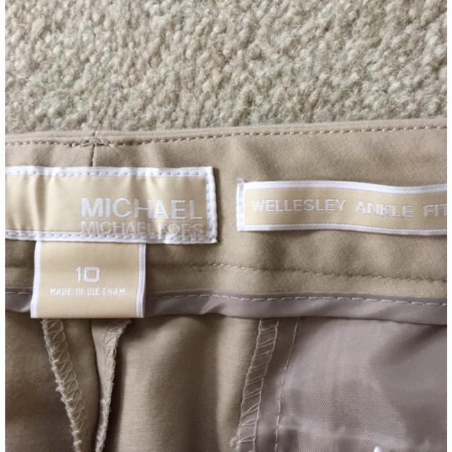 Michael Kors Straight Pants Tan
