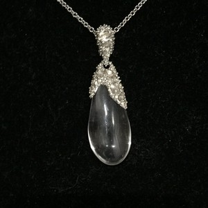 Alexis Bittar Alexis Bittar Clear Dew Drop Necklace