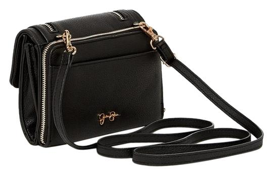 Preload https://item1.tradesy.com/images/jessica-simpson-black-faux-leather-clutch-10195105-0-3.jpg?width=440&height=440