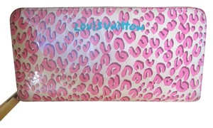 Louis Vuitton Louis Vuitton Wallet Zippy Leopard Stephen Sprouse .