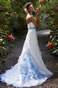David's Bridal Mk3433 Wedding Dress