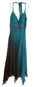 Sue Wong Halter Evening Dress