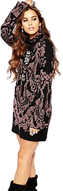 Preload https://item2.tradesy.com/images/free-people-price-lowered-modern-lover-printed-turtleneck-short-casual-dress-size-8-m-10195951-0-1.jpg?width=400&height=650