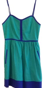Urban Outfitters short dress Teal and Cobalt Blue on Tradesy