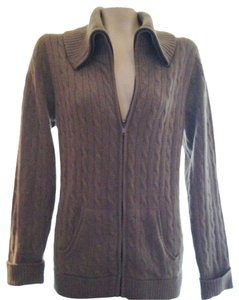 Saks Fifth Avenue Cashmere Zipper Cardigan