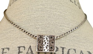 Lois Hill Lois Hill .925 Sterling Silver 18 Inch Balinese Style Necklace