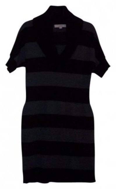 Preload https://item3.tradesy.com/images/ann-taylor-loft-black-and-gray-above-knee-short-casual-dress-size-4-s-10197-0-0.jpg?width=400&height=650