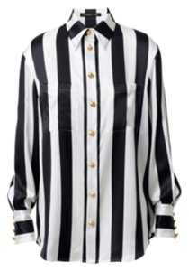 Balmain x H&M Button Down Shirt Blac