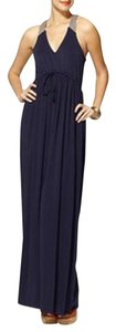 Navy Maxi Dress by Hive & Honey Cotton Comfortable Maxi